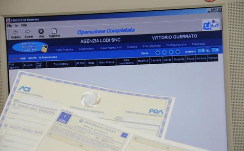 PRA - pubblico registro automobilistico