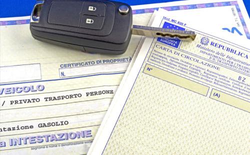 Licenza veicoli esteri
